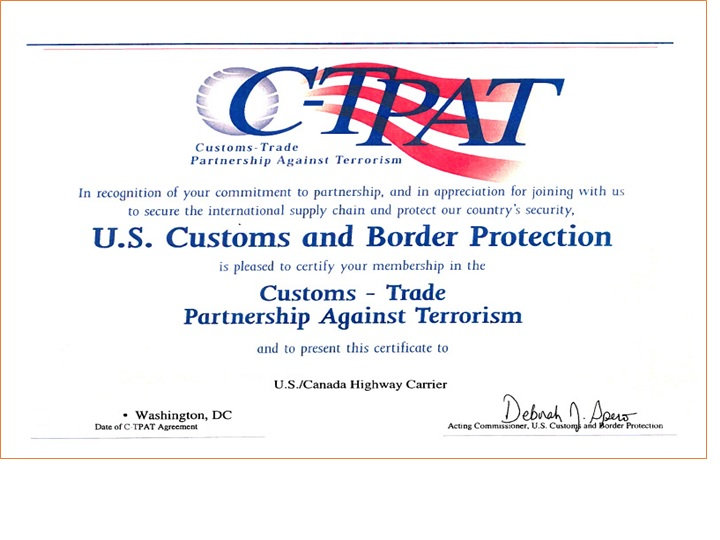 c tpat It is not enough to simply understand c-tpat (customs-trade partnership against terrorism), but to know what records needed for compliance.